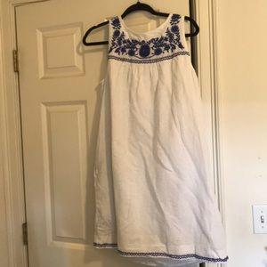 J.Crew Embroidered Dress